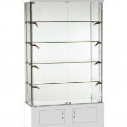 CW09 Wall Display Cabinet-white