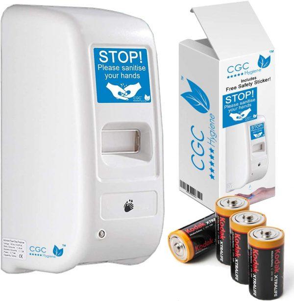 Hand Sanitiser Dispenser with Batteries